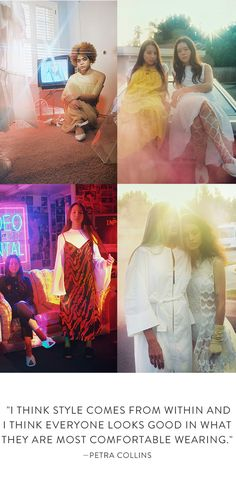 Nordstrom's Spring Campaign shot by Petra Collins