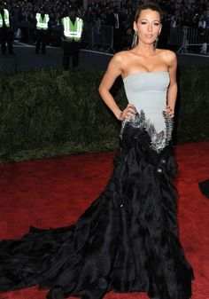 Blake Lively, always a favorite on the red carpet