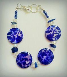 Vintage blue bracelet