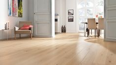 Your contact for parquet, laminate, cork, DISANO and parkettmanufaktur. Hardwood Floors, Flooring, Light Oak, Sweet Home, New Homes, Gallery Wall, Furniture, Home Decor, Bedroom Ideas