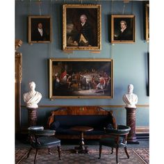 The Morning Room at the Garrick Club in London