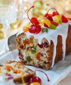 Cake au fruits confits