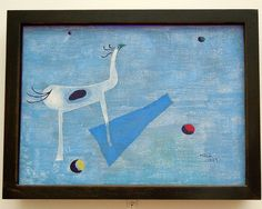 Joan Miró, Circus Horse, 1927, the Art Institute of Chicago, May 2014
