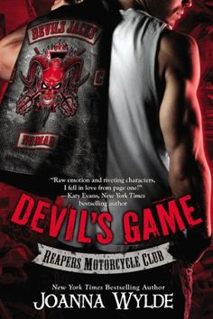 Devil's Game (Reapers Motorcycle Club Book 3), 2014 The New York Times Best Sellers Fiction winner, Joanna Wylde #NYTime #GoodReads #Books