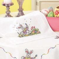 Herrschners® Easter Table Runner Stamped Cross-Stitch Kit