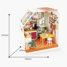 Miniature Dollhouse Room Box Wall Art Movie Star Taylor Handmade