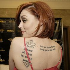 Fit Celebrities with Tattoos