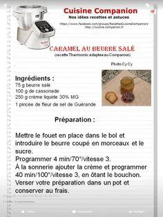 Caramel au beurre salé Prep & Cook, Cake Factory, Food Facts, Robot, Eat, Desserts, Celine Dion, Biscuit, Muffins