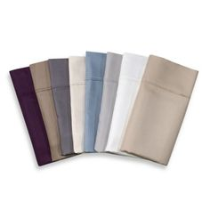 Eucalyptus Origins 500-Thread-Count Tencel® Striped Jacquard Sheet Set available in 8 colors - BedBathandBeyond.com