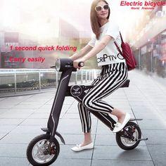 $1 600 Смарт велосипедов электрический велосипед мини интеллектуальный электрический складной велосипед вместо того , чтобы идти электрический велосипед складной мотоцикл купить на AliExpress