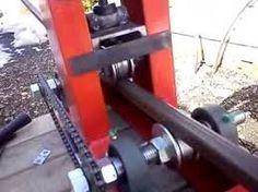 Картинки по запросу roladora de tubos casera