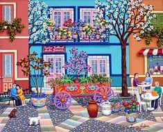 Argentina ~ Laura Vidra ~ The Flower Wagon