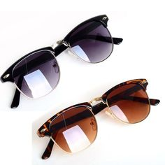 0384734970 Buy Hot Fashion Eyewear Vintage Retro Unisex Sunglasses Women Brand Designer  Men Sun Glasses 2 Colors Oculos De Sol Feminino at Geek - Smarter Shopping