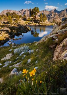 Estany d'Amitges, #hiking at National Park Aigüestortes,Catalonia, Spain