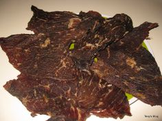 Welcome to Tevy's Kitchen: Khmer, Thai, Lao Jerky ( Sach Ko Ngeat pralack)