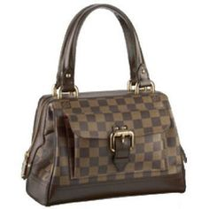 LOUIS VUITTON KNIGHTSBRIDGE N51201 HANDBAG DAMIER EBENE CANVAS