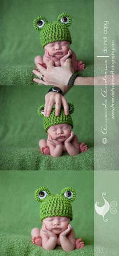 newborn baby photography :: chin on hands composite #Recipes