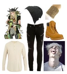 """Terrance son of Tuffnut"" by andromeda07 ❤ liked on Polyvore featuring Just Cavalli, Timberland, Neff, De Bonne Facture, men's fashion and menswear"