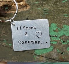 11th Wedding Anniversary Gift Steel Gifts Love Wife Tin Present