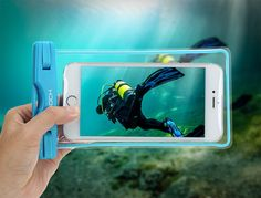 Universal Waterproof Case Floating Dry Bag Dirtproof Shockproof Snowproof for Outdoor Activities Transparent for iPhone 6S Plus SE 5S 5C, Samsung Galaxy S7 S6 edge, Note 5 4 3