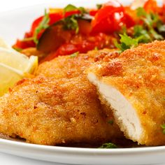An easy homemade Coated Baked Chicken Breasts that is so delicious!