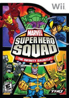 Amazon.com: Marvel Super Hero Squad The Infinity Gauntlet: Nintendo Wii: Video Games