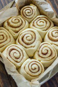 Quick 45 Minute Cinnamon Rolls | Gimme Delicious