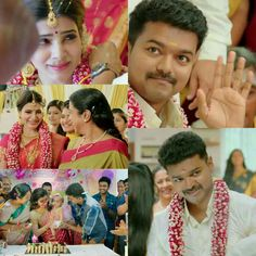 Samantha in Theri wallpapers Wallpapers) – Wallpapers HD Cute Movie Scenes, Movie Pic, Beautiful Couple, Beautiful Bride, Samantha Photos, Samantha Ruth, Tamil Video Songs, Vijay Actor, Black Background Images