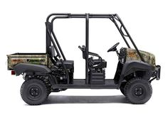 """New 2016 Kawasaki Muleâ""""¢ 4010 Trans4x4® ATVs For Sale in Florida. The Kawasaki DifferenceThe Mule 4010 TRANS4X4® CAMO side X side with Realtree Xtra® Green Camo pattern exudes the outdoor sportsman lifestyle. This versatile mid-size four-passenger workhorse is well equipped to put in a hard day of work and support hunting and fishing adventures. Flexible convertible design lets you easily change from a four-seat crew mover to a two-seat cargo hauler, without the need for tools 617cc…"""