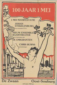 Nr 10: Vrijheid van vergadering. In Oost-Souburg wordt in 1990 een 1 mei manifestatie gehouden ter gelegenheid van '100 jaar  1 mei - Dag van de Arbeid'. Landelijke kopstukken komen die dag spreken. #IAD15 #democracy Uit: Archief Links Kollektief Walcheren. Vindplaats in Zeeuws Archief: http://www.archieven.nl/nl/search-modonly?mivast=239&mizig=210&miadt=239&micode=212&miview=inv2
