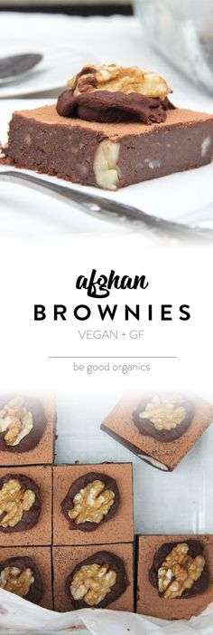 Raw Afghan Brownie - Be Good Organics