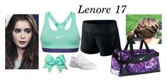 """Lenore- Cheer Tryout"" by my-preppy-family ❤ liked on Polyvore featuring NIKE, Thehamiltons, EliteTryouts and lenoresofia"