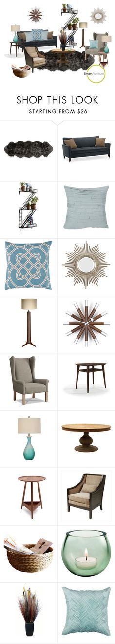 """""""Smart Furniture"""" by kitty1255 ❤ liked on Polyvore featuring interior, interiors, interior design, home, home decor, interior decorating, Surya, Brucs, Pinch and Laura Ashley"""