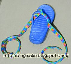 Decorate Flip Flop Craft Ideas | Crafty-Crafted Friend's submission on decorating flip flops