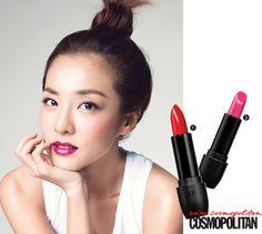 "Cosmopolitan Korea September 2014 ""Celeb Beauty"" features #Sandara @krungy21 and the new #Clio Virgin Kiss Tension Lip #lipstick #beauty tips #Clubcliousa#virginkiss #tensionlip #dara #beautytips #makeup #cosmetics #cosmopolitan #makeuptips #kbeauty #september2014 #newlaunch #2ne1"