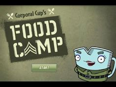 Fizzy's Lunch Lab Corporal Cup's Food Camp Cartoon Animation PBS Kids Ga...