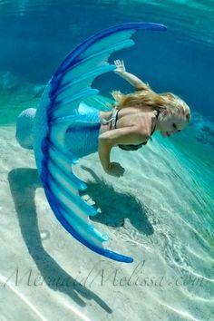 Mermaid tail! I love it!!