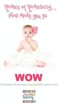 60 Best Unique Baby Names images in 2019   Rare baby names