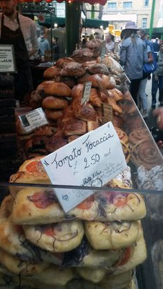 """""""Love food, feed love"""" a foodie response to those who sort to bring terror to London's Borough Market"""