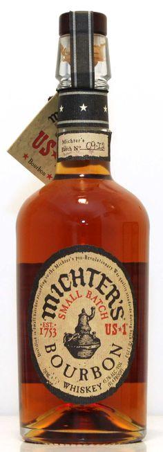 Michters US#1 Bourbon. Whiskey Or Whisky, Whiskey Distillery, Scotch Whiskey, Rum Bottle, Liquor Bottles, Whiskey Bottle, Rye Bourbon, Tequila, Aircraft