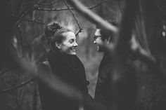 black and white engagement photography London
