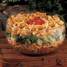 Southwestern Salad...made this for a church luncheon and everyone loved it.