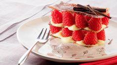 sweet, raspberry, cake, food, dessert, dessert, cake, cream