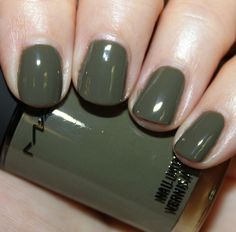 My current favorite for fall: Army green
