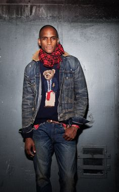How do you style your vintage Ralph Lauren?
