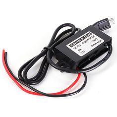 5pcs 12V al módulo del convertidor de la CC de la CC 5V con el adaptador de la energía de salida del USB 15W