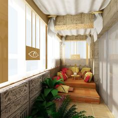 Incluso el balcón más pequeño puede convertirse en el lugar favorito de tu casa.