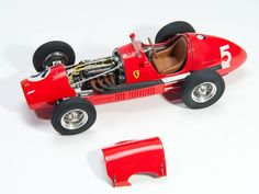 In 1952, Alberto Ascari won the World Driver's Championship driving a Ferrari 500 to first-place finishes in six races. Scott built Model Factory Hiro's 1/20 scale Ferrari 500 out of the box and painted it Testors Model Master enamels.
