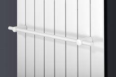 XIMAX Handtuchhalter für Paneelheizkörper, in Weiss