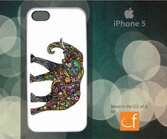 Paisley Elephant iPhone 4 4s 5 5C or Samsung Galaxy S3 by CaseFase, $18.00
